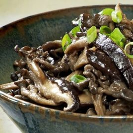 Cogumelos à Moda Oriental