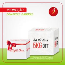 5KG OFF – 03 Semanas c/ 60 refeições + Light One Grátis