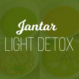 Jantar Light Detox – Kit c/ 5 Refeições 300g