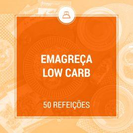 Programa Emagreça Low Carb – 50 refeições