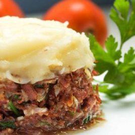 Escondidinho Fit de Carne com Batata-doce