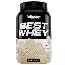 Nutrition Athetica Best Whey beijinho com coco 900g (temos outros sabores)