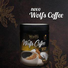 Wolfs caffee c/ óleo de coco