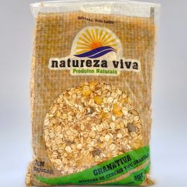 GRANOLA SEM AÇÚCAR – NATUREZA VIVA 450 g