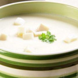 Sopa de Creme de Palmito