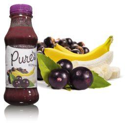 Bebida Mista Açai + Banana + Guaraná – Pures